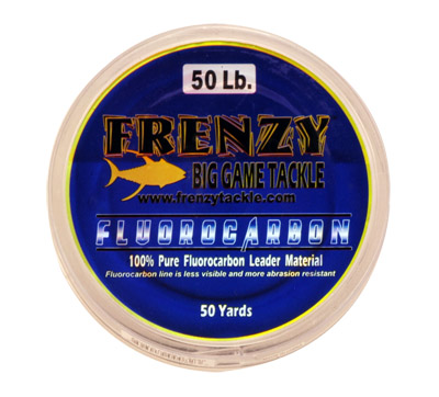Frenzy Fluorocarbon Leader 50 Yard Spool